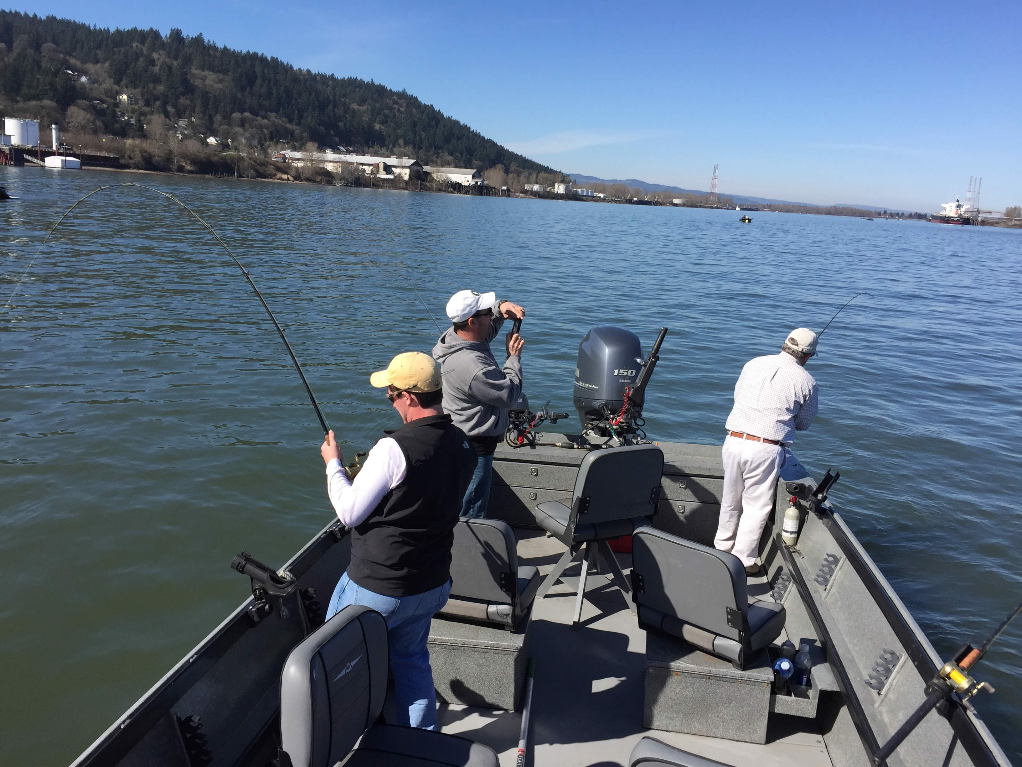 Gallery lewis and clark guide service for Tillamook fishing report
